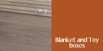 Blanket and Toy boxes
